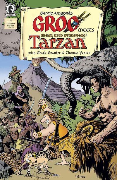 Groo Meets Tarzan #3 (2021)
