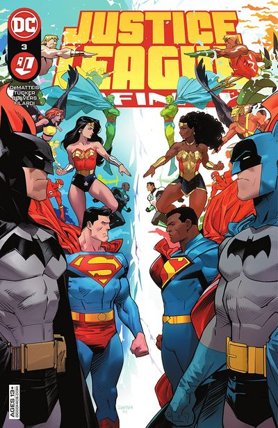 Justice League Infinity #3 (2021)