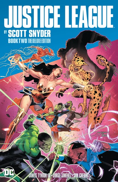 Justice League by Scott Snyder Book 2 – The Deluxe Edition (2020)