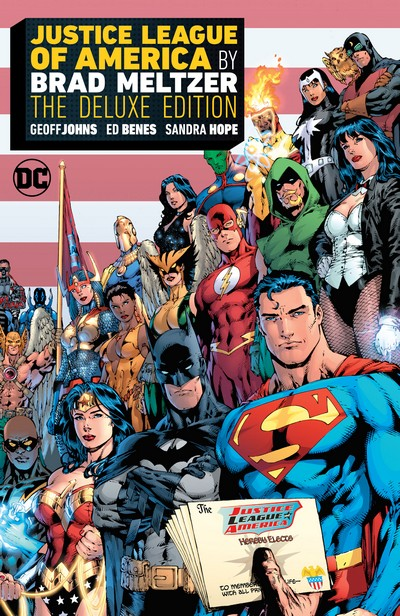 Justice League of America by Brad Meltzer – The Deluxe Edition (2020)