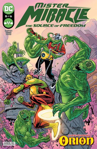 Mister Miracle – The Source of Freedom #5 (2021)