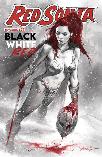 Red Sonja – Black, White, Red #3 (2021)