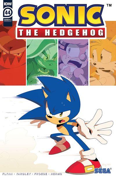 Sonic The Hedgehog #44 (2021)
