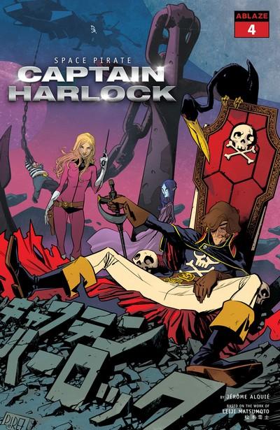 Space Pirate Captain Harlock #4 (2021)
