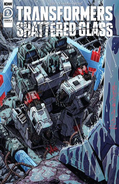 Transformers – Shattered Glass #2 (2021)