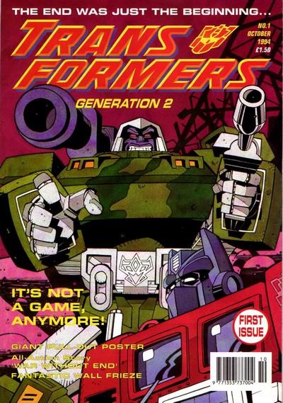 Transformers UK – Generation 2 #1 – 5 (1994-1995)