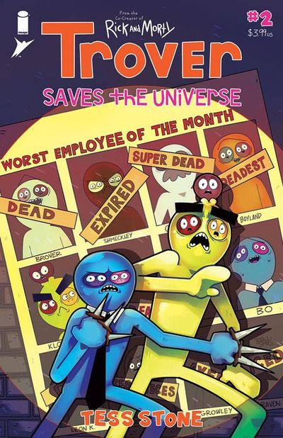 Trover Saves The Universe #2 (2021)