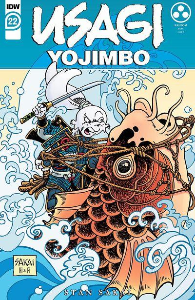 Usagi Yojimbo #22 (2021)