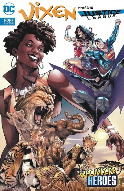 Vixen and the Justice League – Wildlife Heroes (2018)