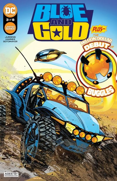 Blue and Gold #3 (2021)
