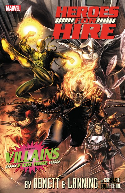 Heroes For Hire By Abnett And Lanning – The Complete Collection (2020)