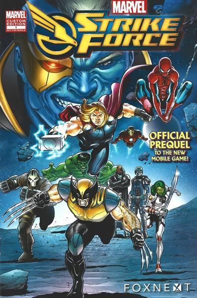 Marvel S.T.R.I.K.E. Force – Prequel #1 (2018)