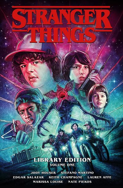 Stranger Things Library Edition Vol. 1 (2021) (Omnibus)