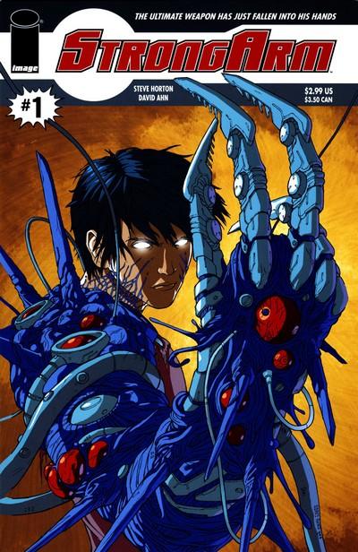 StrongArm #1 – 5 (2007-2008)