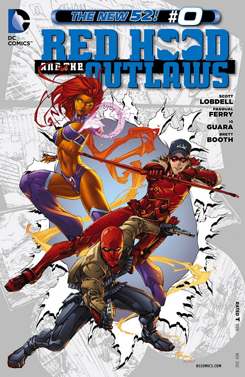 Red Hood and the Outlaws 000 – 037 Plus Annual Free Download