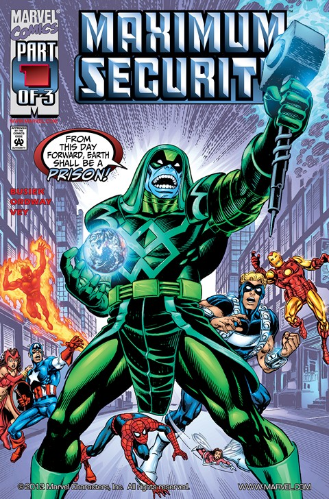 Maximum Security #1 – 3 Free Download