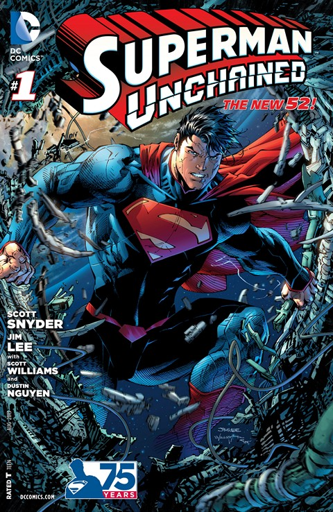 Superman Unchained #1 – 9 Free Download