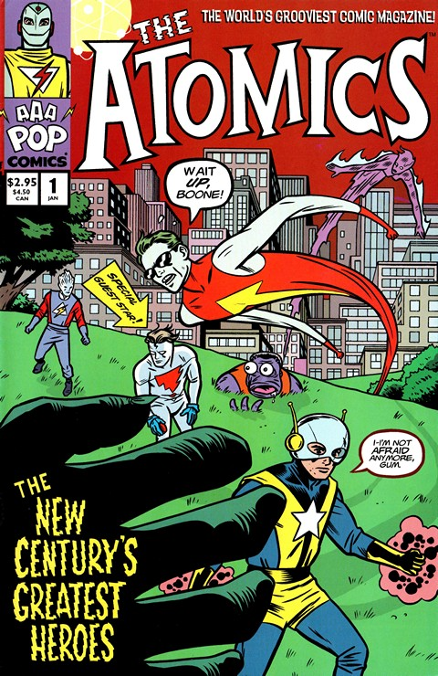 The Atomics #1 – 15 Free Download