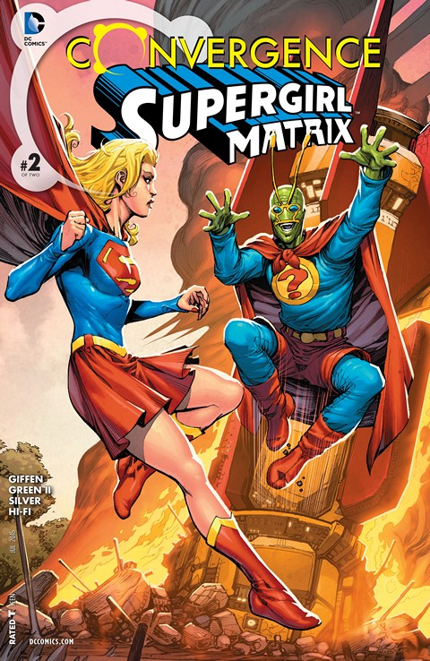 Convergence – Supergirl Matrix #2