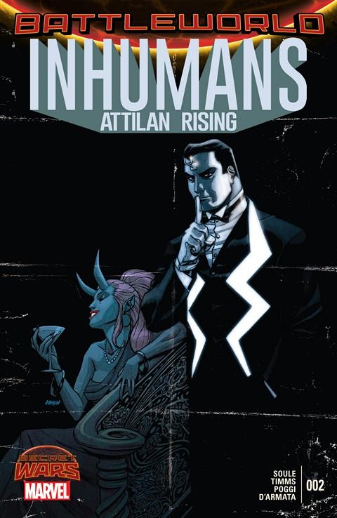 Inhumans – Attilan Rising #2