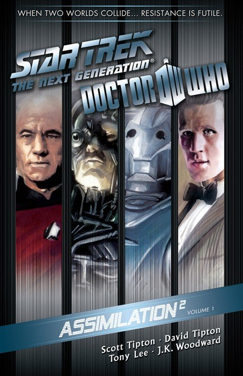 Star Trek The Next Generation Doctor Who Assimilation Vol. 1 + 2