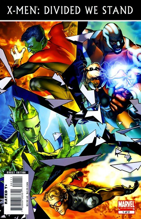 X-Men Divided We Stand (Story Arc)