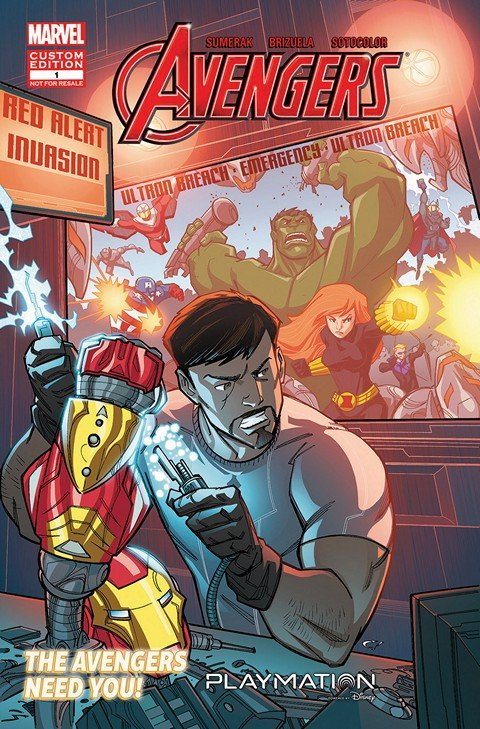Avengers in Gearing Up #1