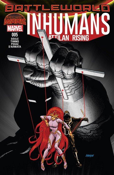 Inhumans – Attilan Rising #5
