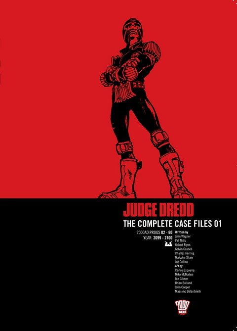 Judge Dredd – The Complete Case Files Vol. 1 – 28 (2006-2016)
