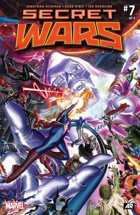 Secret Wars #7