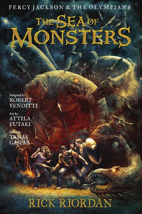 Percy Jackson and the Olympians – The Sea of Monsters