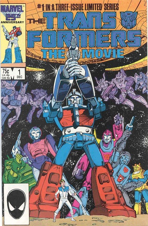 The Transformers – The Movies #1 – 3