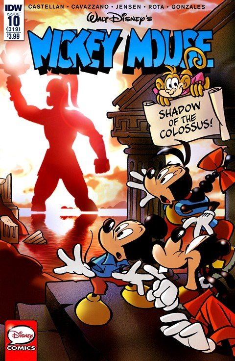 Mickey Mouse #1 – 10