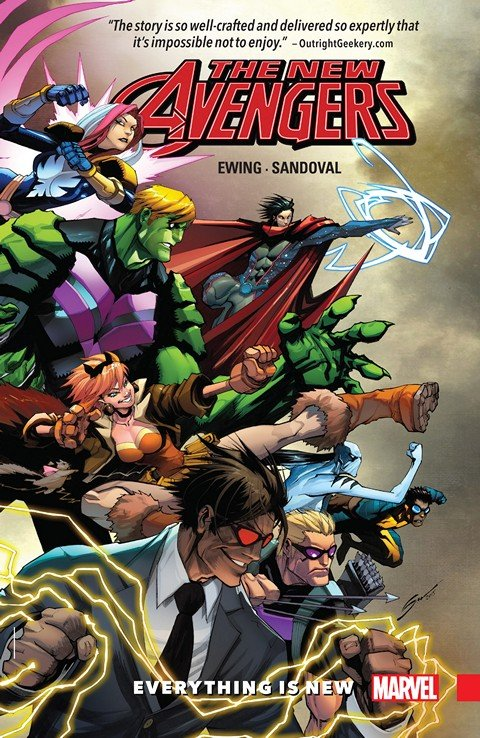 New Avengers – A.I.M. Vol. 1 – Everything is New