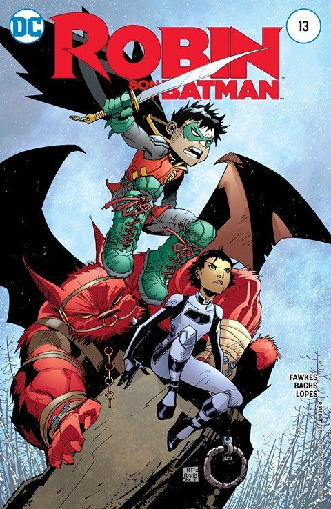 Robin – Son of Batman #13