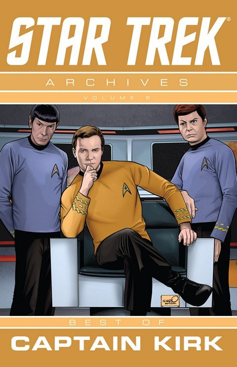 Star Trek Archives Vol. 5 The Best Of Kirk