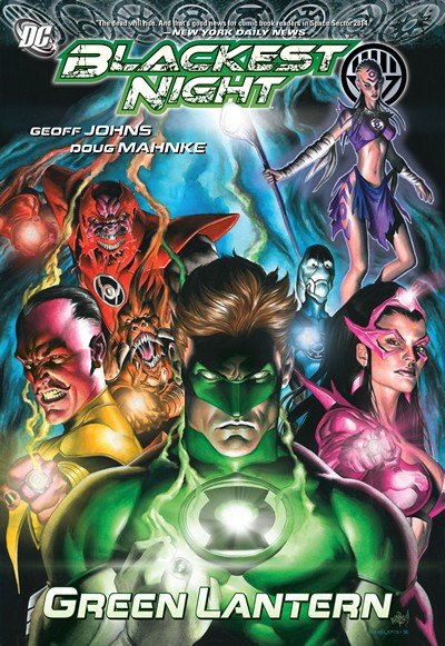 Blackest Night – Green Lantern (TPB) (2010)