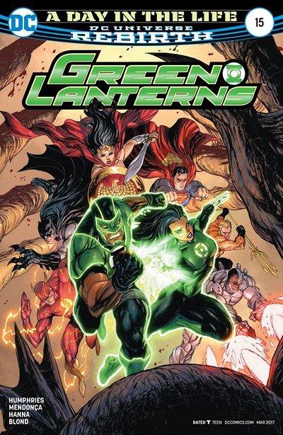 Green Lanterns #15 (2017)