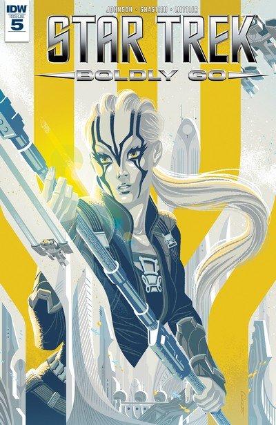 Star Trek Boldly Go #5 (2017)