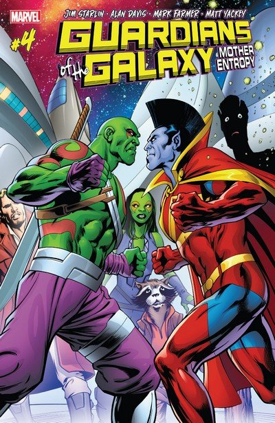 Guardians of the Galaxy – Mother Entropy #4 (2017)