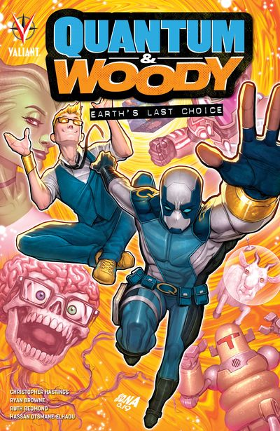 Quantum and Woody – Earth's Last Choice (TPB) (2020)