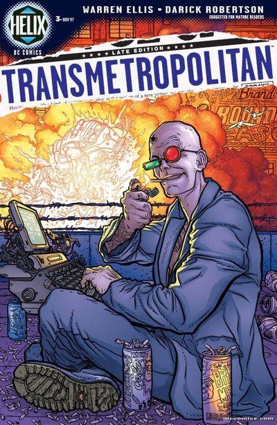 Transmetropolitan Book 3 (2020)