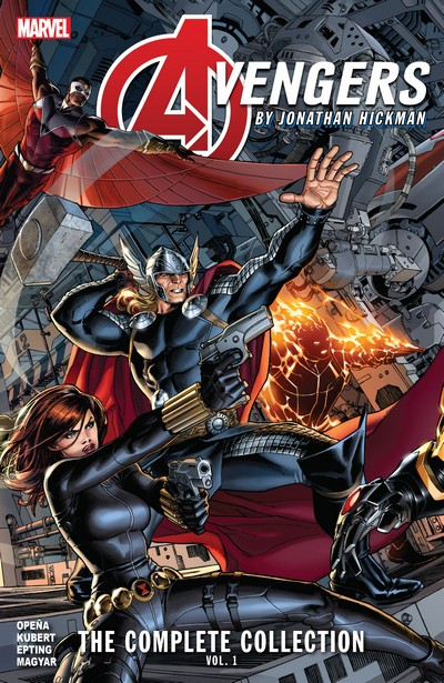 Avengers by Jonathan Hickman – The Complete Collection Vol. 1 – 3 (2020-2021)