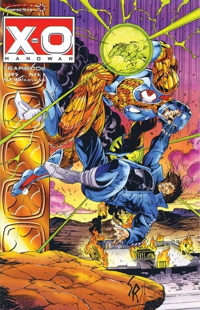 X-O Manowar Yearbook #1 (1995)