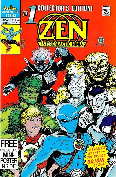 Zen Intergalactic Ninja Vol. 2 #1 – 3 (1992) (Archie)