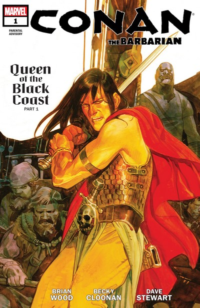 Conan the Barbarian #1 – 25 (2012-2014)