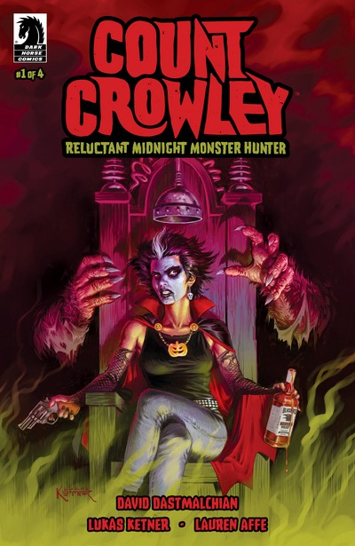 Count Crowley – Reluctant Midnight Monster Hunter #1 – 4 (2019-2020)