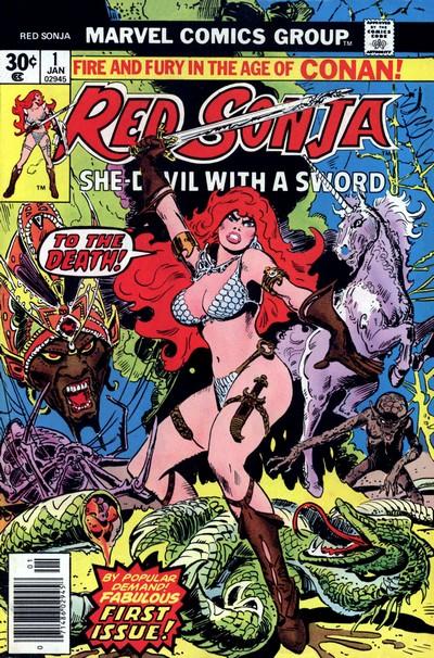 Red Sonja Vol. 1 #1 – 15 (1977-1979)