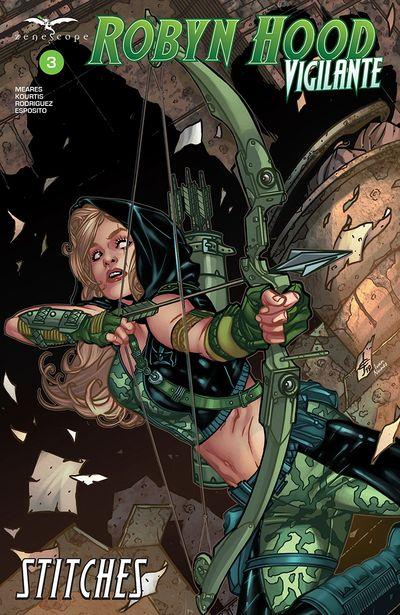 Robyn Hood – Vigilante #3 (2020)