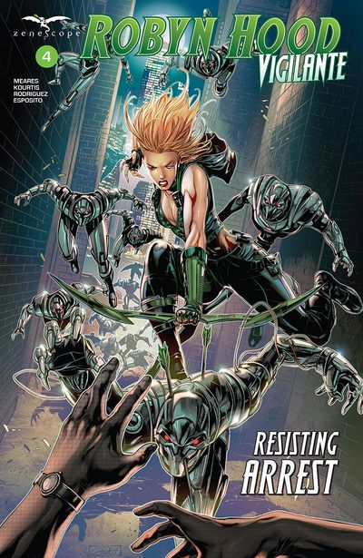 Robyn Hood – Vigilante #4 (2020)